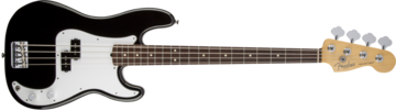 Fender American Standard Precision Bass, Rosewood Fingerboard, Black