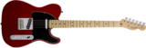 Fender American Standard Telecaster, Maple Fingerboard, Crimson Red Transparent (Ash)_