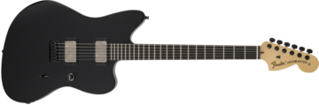 Fender Jim Root Jazzmaster, Ebony Fingerboard, Flat Black