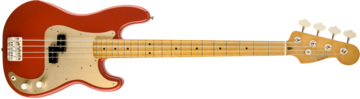 Fender 50s Precision Bass, Maple Fingerboard, Fiesta Red