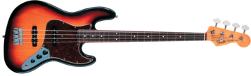 Fender 60s Jazz Bass, Rosewood Fingerboard, 3-Color Sunburst