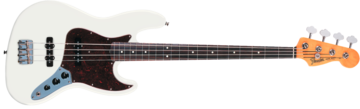 Fender 60s Jazz Bass, Rosewood Fingerboard, Olympic White