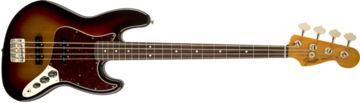 Fender 60s Jazz Bass Lacquer, Rosewood Fingerboard, 3-Color Sunburst