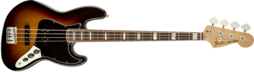 Fender 70s Jazz Bass, Rosewood Fingerboard, 3-Color Sunburst