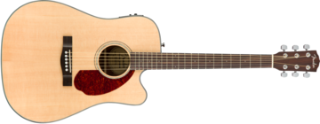 Fender CD-140SCE inclusief Koffer, Natural