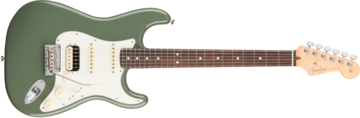 Fender American Pro Stratocaster HSS Shawbucker, Rosewood Fingerboard, Antique Olive