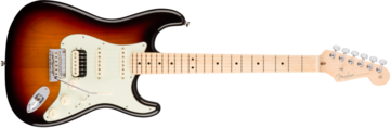 Fender American Pro Stratocaster HSS Shawbucker, Maple Fingerboard, 3-Color Sunburst