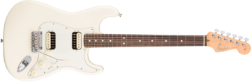 Fender American Pro Stratocaster HH Shawbucker, Rosewood Fingerboard, Olympic White