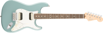 Fender American Pro Stratocaster HH Shawbucker, Rosewood Fingerboard, Sonic Gray