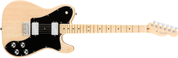 Fender American Pro Telecaster Deluxe Shawbucker, Maple Fingerboard, Natural