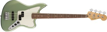 Player Jaguar¨ Bass, Pau Ferro Fingerboard, Sage Green Metallic