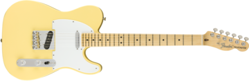 American Performer Telecaster, Maple Fingerboard, Vintage White
