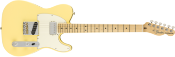 American Performer Telecaster with Humbucking, Maple Fingerboard, Vintage White