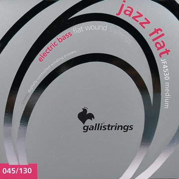 Galli snarenset 5-snarige basgitaar, polished stainless steel medium, 045-065-085-105-130 JF-4530