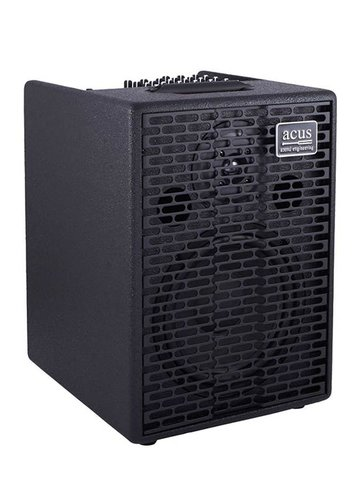 Acus acoustic instruments amplifier ONE FOR STRINGS 8, 200W, 3 kanalen, reverb, zwarte coating ONE-8/BK