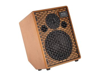 Acus akoestische instrumenten versterker ONE FOR STRINGS 8, 200W, 3-kanaals, reverb, naturel hout ONE-8C