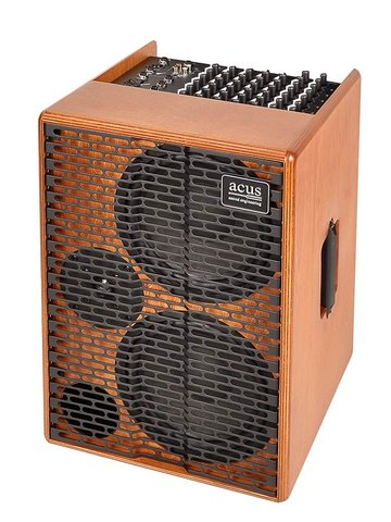 Acus acoustic instruments amplifier ONE FOR STRINGS AD, 350W, five channels, reverb, naturel hout ONE-AD