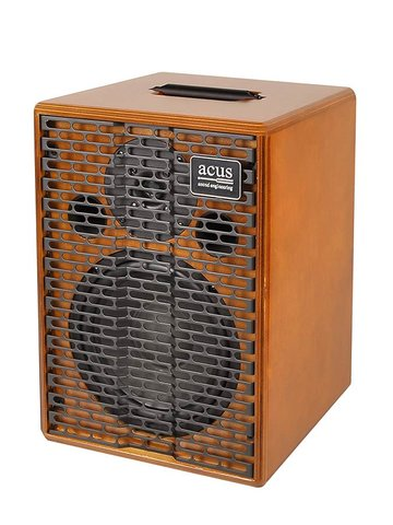 Acus acoustic instruments amplifier ONE FOR STRINGS EXT, 200W, master volume, naturel hout ONE-EXT