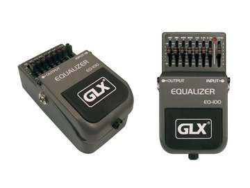 GLX guitar equalizer, effectpedaal, stompbox EQ-100