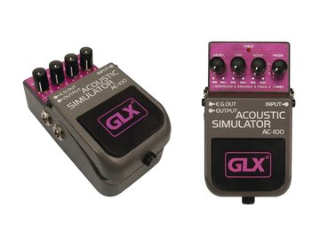 GLX acoustic simulator, effectpedaal, stompbox AC-100