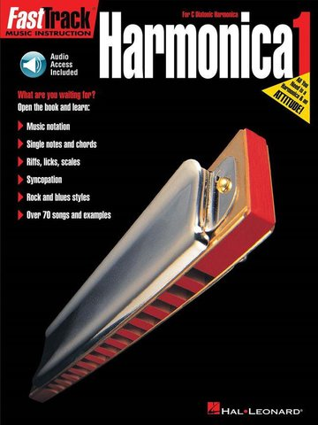 Fasttrack Harmonica Method Book 1