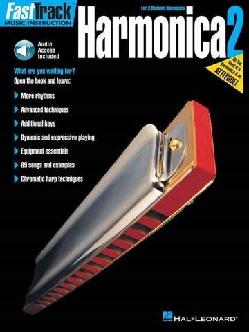 FastTrack Harmonica Method Book 2