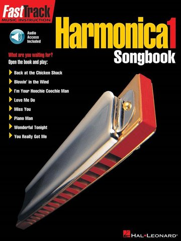 FastTrack Harmonica Songbook 1 level 1