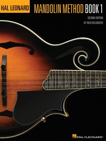 Hal Leonard Mandolin Method - Book 1 (2nd ed)