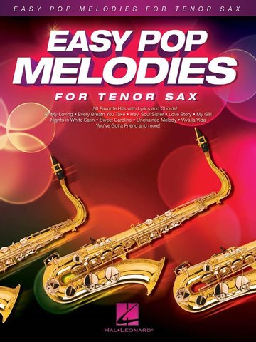 Easy Pop Melodies - for Tenor Sax