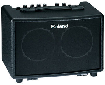 Roland AC-33 Acoustic Chorus Guitar Amplifier, 2x 15W, Phrase Looper, Battery Operated