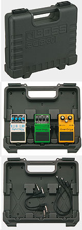 Boss BCB-30 Boss carrying case for 3 compact pedals