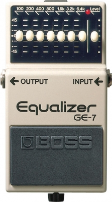 Boss GE-7 7-Band EQ for guitar (Analogue)