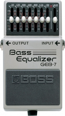 Boss GEB-7 7-Band EQ for bass (Analogue)