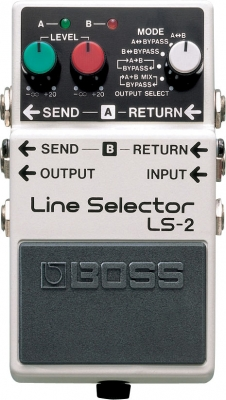 Boss LS-2 Line Selector (Analogue)