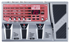 Boss ME-20B Bass Multi Effects Processor, (option : PSA-230S)