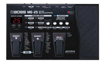 Boss ME-25 Guitar Multi Effects Processor, (option : PSA-230S)