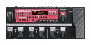 Boss RC-300 Triple-Stereo Mega Looper, 3 hrs stereo recording time