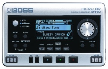 Boss BR-80 Digital recorder, 8 tracks