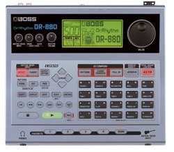 Boss DR-880 Dr. Rhythm, built-in guitar FX , USB