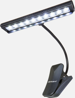 Roland LCL-30-EU ORCHESTRAL LED CLIP LIGHT, 10 BULBS