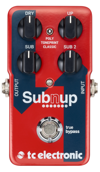 Sub 'N' Up Octaver TonePrint enabled octaver pedal