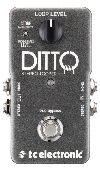 Ditto Stereo Looper Stereo Looper with Import/Export feature