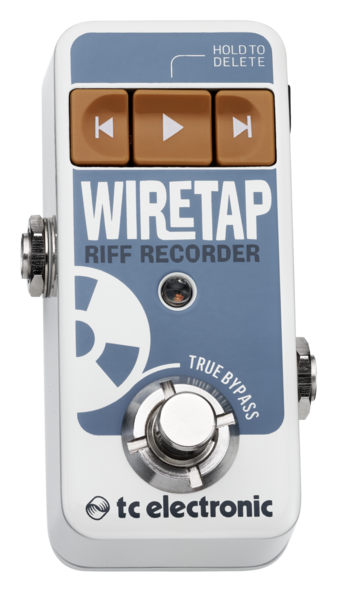 Wiretap Riff Recorder Pedal-simple Riff Recorder
