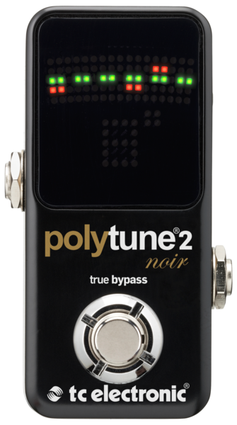 PolyTune 2 Noir Ultra-Compact Polyphonic Tuner