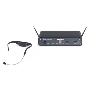 Samson Airline 88 Headset 8-Channel Beltpack-vrij UHF draadloos headset systeem in G-band (863 - 865 MHz)