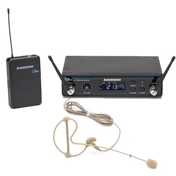 Samson Concert 99 Earset UHF draadloos earset Pro-systeem met Freq-Scan in L-band (823-832 MHz)