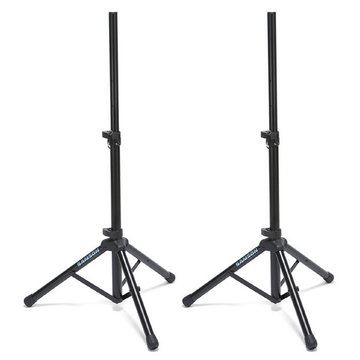 Samson SP50P Set compacte heavy duty aluminium speaker stands met Air Cushion