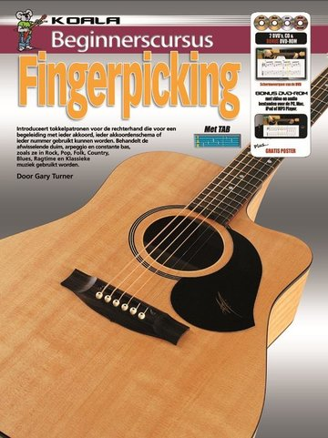 Beginnerscursus Fingerpicking Gitaar