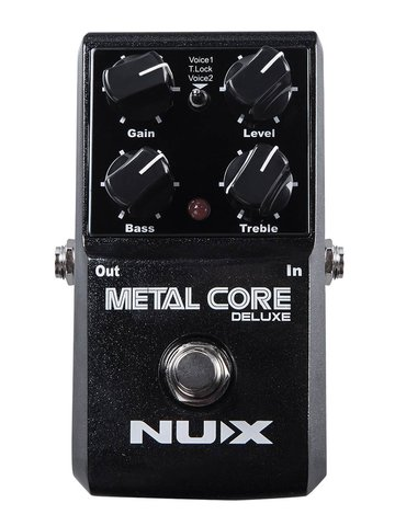 NUX distortion pedal METAL CORE DELUXE