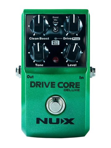 NUX overdrive pedal DRIVE CORE DELUXE